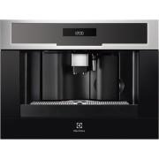 Espresso incorporabil Electrolux EBC54524OX, putere 1350 W, rasnita incorporata, display lcd, program decalcifiere, inox antipata
