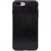 ER Flash Anti-Fall Teléfono Tipo De Polvo En La Tapa De La Caja Protectora Para IPhone 7 Plus -Negro
