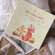 Miaworkstudio Первый детский фотоальбом Мы любим тебя