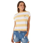 Rip Curl Island Punch Tee White Yellow