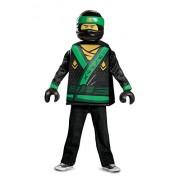 Lloyd LEGO Ninjago Movie Classic Costume, Green, Medium (7-8)