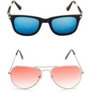 Neelkanth Aviator Sunglasses(Multicolor)