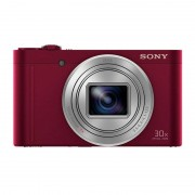 Sony DSC-WX500 18.2MP Wifi NFC Vermelha
