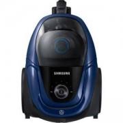 Прахосмукачка без торба Samsung VC07M3110VB/GE, 700 W, Миещ се филтър, Телескопична тръба, Черен/Син