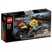 Set de constructie LEGO Technic Motocicleta de Cascadorie