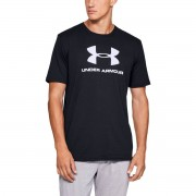 Under Armour Tričko Sportsstyle Logo SS Black - Under Armour