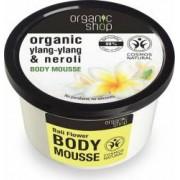 Mousse Organic Shop delicios pentru corp Bali Flower, 250 ml
