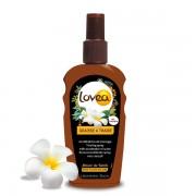 Lovea Graisse à Traire Accélératrice de Bronzage - Monoï de Tahiti - Parfum Coco 200 ml