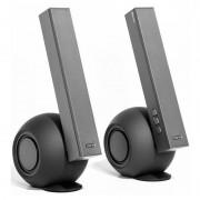 Boxe E10BT, 2.0, 36W, Negru/Argintiu