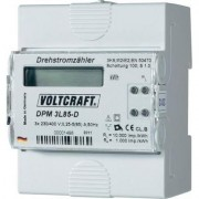 VOLTCRAFT DPM 3L85-D Sínre szerelhető fogyasztásmérő, digitális kijelzéssel 85 A (125254)