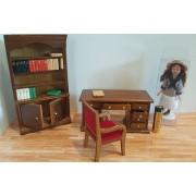 Mobilier set birou - miniaturi papusi/colectionari