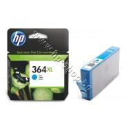 Мастило HP 364XL, Cyan, p/n CB323EE - Оригинален HP консуматив - касета с мастило