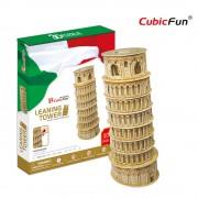 Cubicfun Turnul Inclinat din Pisa Puzzle 3D 30 de piese