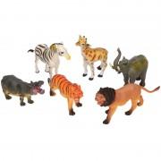 Merkloos Safari plastic dieren