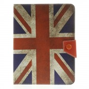 Javu - Universele 8 inch Tablet Hoes - Book Cover Vintage Britse Vlag