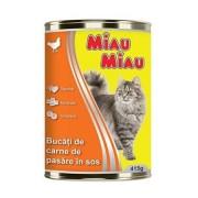 Conserva pt Pisica de 415 grame Sortiment economic