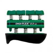 Digi-Flex hand/finger exercise system, kéz/ujj erősítő, zöld, erősség: 2,3 kg - 7,3 kg