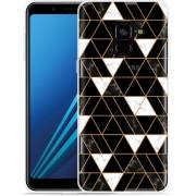 Samsung Galaxy A8 Plus 2018 Hoesje It's marbelous
