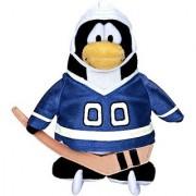 Disneys Club Penguin Series 11 Blue Hockey Player with Online Unlock Code 6 inch Plush