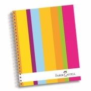 Caiet Birou Spira 120 File 4 Subiecte Coperta Color Faber-Castell