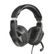 HEADPHONES, TRUST GXT 412 Celaz Multiplatform, Gaming, Microphone, Black (23373)