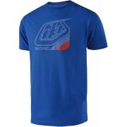 Troy Lee Designs Precision T-Shirt Röd Blå M