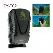 Zy-t Aquarium Fish Tank Suspende Rascador Cepillo Limpiador Magnetico Herramientas De Limpieza, M, Tamaño: 10.3 * 5.8 * 5.7cm