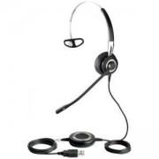 Слушалки с микрофон Jabra BIZ 2400 Mono, NC, USB/BT, 2496-829-104