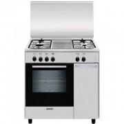 Glem Gas As854ei Cucina 80x50 4 Fuochi A Gas Forno Elettrico Classe A 61 Litri I