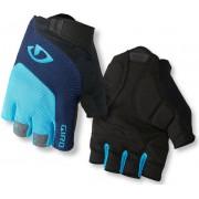 Giro Bravo Gel Handskar blå/svart XL 2019 Handskar för racer