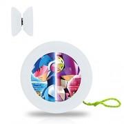 New Style Mega Man YoYo Ball Professional Responsive Yo-Yo Bearing Spinning Ball String Spin Toys-White