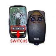 Telecomanda cu dip-switch Nice Flo2 (Nice)