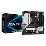 MB, ASRock B550M PRO4 /AMD B550/ DDR4/ AM4 (90-MXBDK0-A0UAYZ)