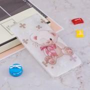 Bear Pattern TPU Case for Sony Xperia XZ2