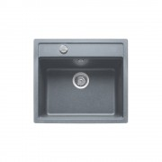 Мивка за вграждане Teka Menorca 60 S-TG черен металик, 40144569