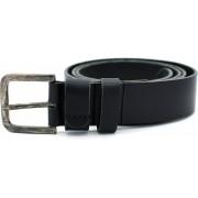 JAP Fashion leren riem - 105 tot 110 cm - Samac gesp - Jeans belt - Mannen riemen - Zwart