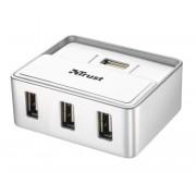 I/O, HUB 4 PORT, Trust Power, USB2.0 за MAC (15919)