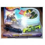 Hot Wheels DC Comics Batman vs Killer Croc 1:64 Scale Die Cast Car 2 Pack Mattel 2003