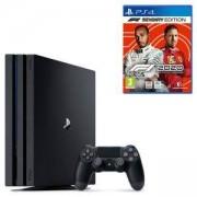 Конзола Playstation 4 PRO, 4K, 1ТВ, Sony PS4 Pro + Игра F1 2020 - Seventy Edition за PlayStation 4