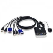 Превключвател 2 port KVM USB ATEN-CS22U, USB, ATEN-CS22-USB