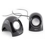 Mini Speaker per Notebook Nero