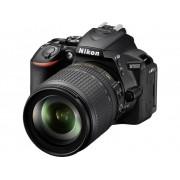 Digitale spiegelreflexcamera Nikon D5600 Incl. AF-S DX NIKKOR 18-105 mm VR lens 24.2 Mpix Zwart WiFi, Full-HD video-opname