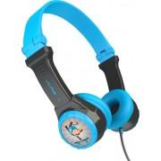 JLab Audio - JBuddies Folding Wired On-Ear Headphones - Blue/Gray