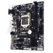 Дънна платка Gigabyte GA-H110M-S2H (rev 1.0), H110, LGA1151, DDR4, PCI-E (HDMI&DVI), 4x SATA 6Gb/s, 2x USB 3.0, microATX