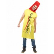 Vegaoo Mayonnaise outfit voor volwassenen One Size
