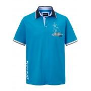 Babista herenmode Poloshirt BABISTA Royal blue