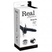 Fallo Strap-on Realistico Real Rapture Cavo per Uomo o Donna 20 X 5 cm.