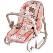 Бебешки шезлонг с гриф Top Relax, Lorelli, Pink Best Friends, 0740231