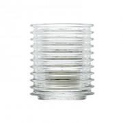 La Rochère Photophore en verre pressé - Lot de 6 - Buzz - La Rochère