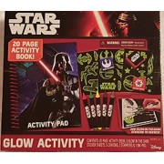 Star Wars Glow Activity Book, Stickers, Crayons, Stampers & Ink Pad